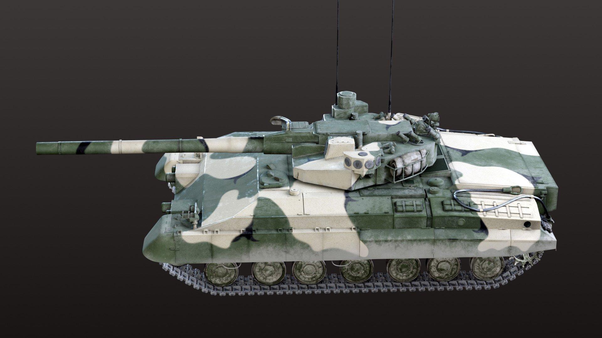 阿玛塔的灵感来源?苏联无人炮塔坦克CG图曝光