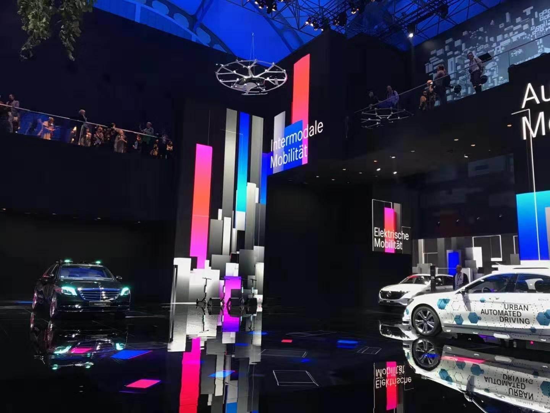 """康林松""""首秀""""法兰克福车展:加速转型电气化,重新定义新豪华"""