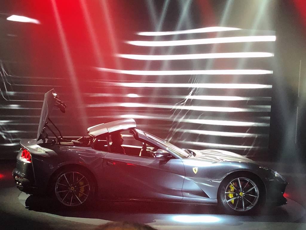 来自V12的咆哮!法拉利812 GTS正式发布!