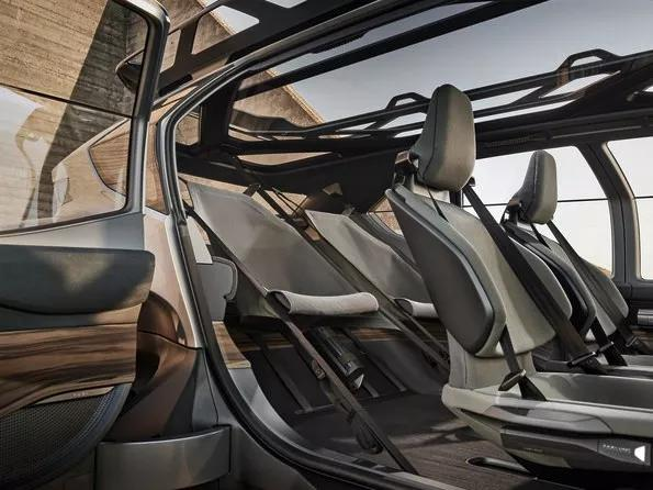 未来越野雏形?奥迪发布AI:TRAIL quattro电动概念车