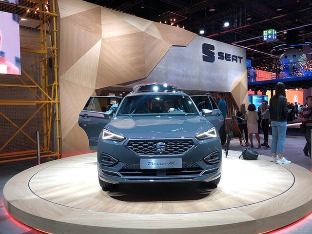 定位中型SUV/纯电续航50公里西雅特Tarraco FR亮相法兰克福车展
