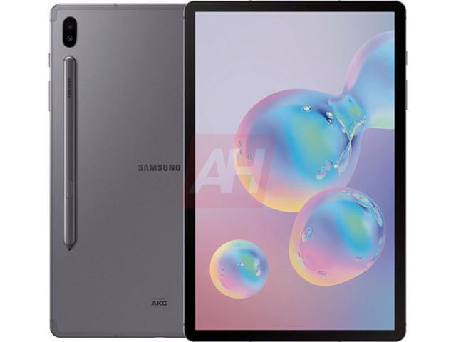 三星Galaxy Tab S6平板长啥样?海报渲染图为你揭秘