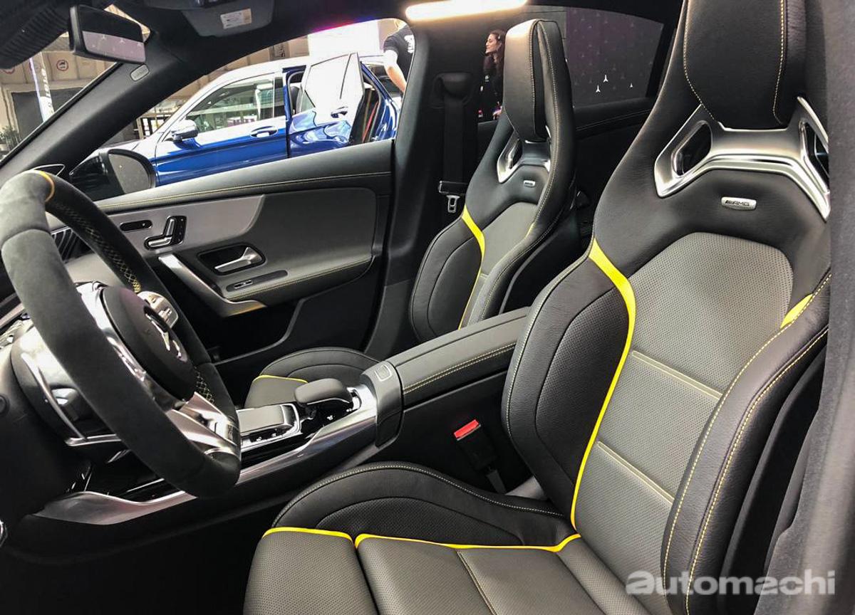 IAA 2019 : Mercedes-AMG CLA 45 S 实车鉴赏!