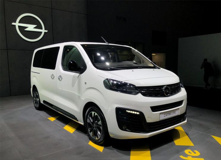 定位商用MPV,新一代欧宝赛飞亮相法兰克福车展
