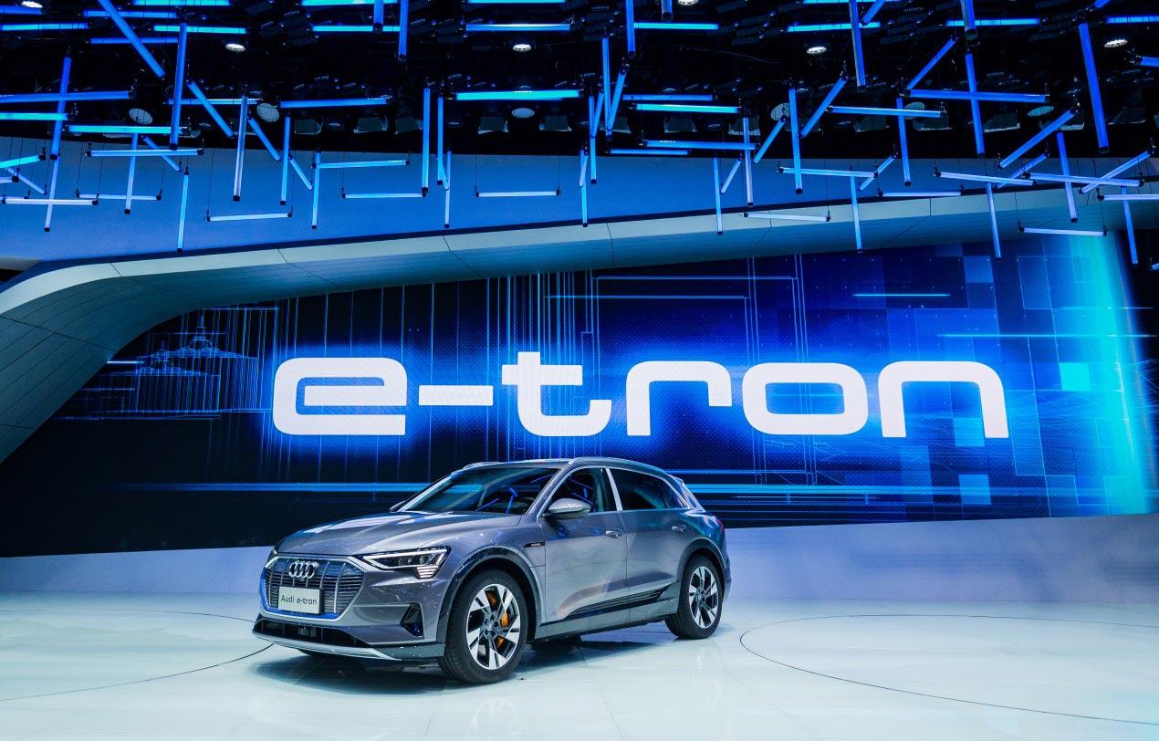 奥迪、宝马、奔驰齐亮相法兰克福车展,谁是最激进电动化进行者?