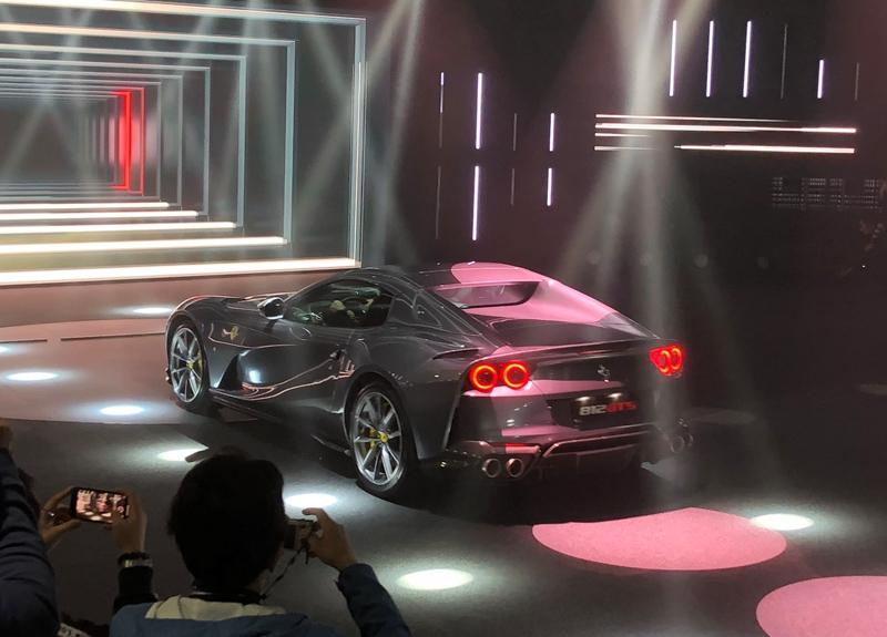 百公里加速小于3秒,最高时速340km/h,法拉利812 GTS正式发布