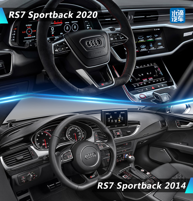 西装暴徒 贴地飞行  全新一代奥迪RS 7 Sportback发布