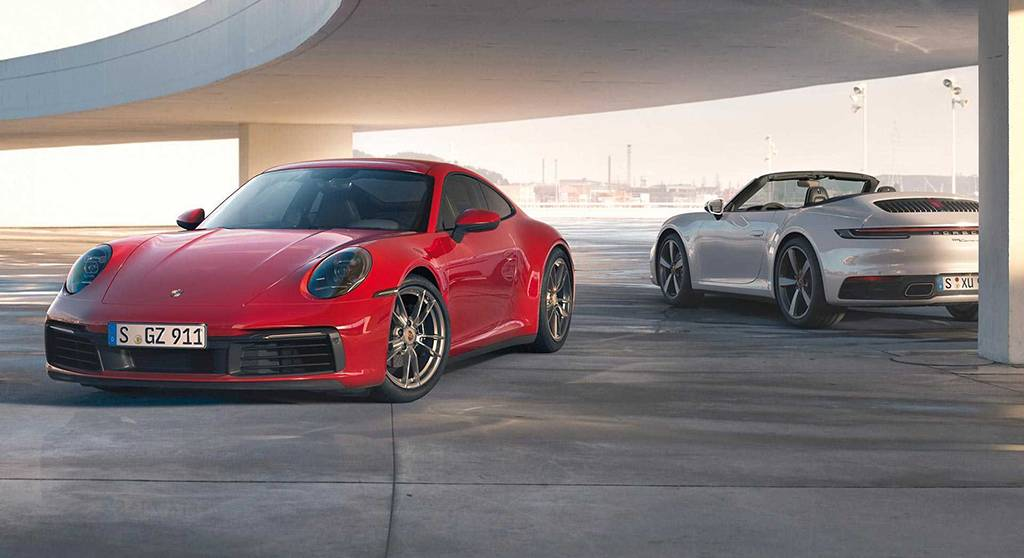 2019法兰克福车展:保时捷911 Carrera 4发布