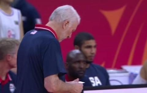 美国男篮无缘男篮世界杯四强,波波维奇小个阵容输在什么地方?