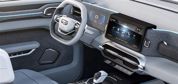 外观、内饰开创新风格!吉利全新SUV正式定名为icon