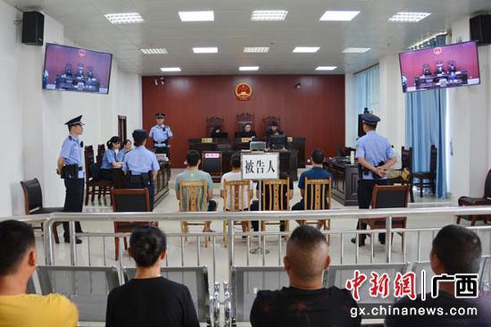 广西4人涉嫌非法制造、买卖、邮寄枪支爆炸物受审