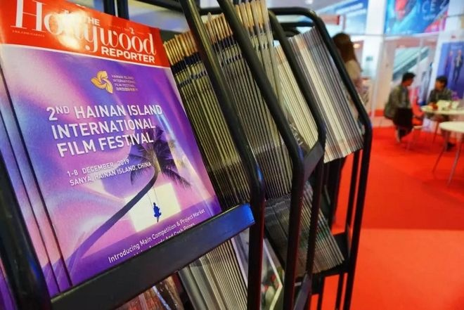 hiiff在戛纳电影节登上《好莱坞报道》的封面.主办方供图西瓜视频怎么放电影图片
