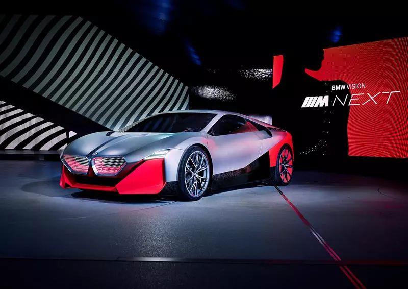 四分钟满电!宝马氢燃料概念车亮相法兰克福车展