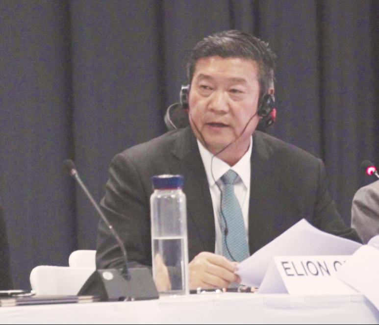 王文彪:人类应携手开创防治荒漠化应对气候变化行动