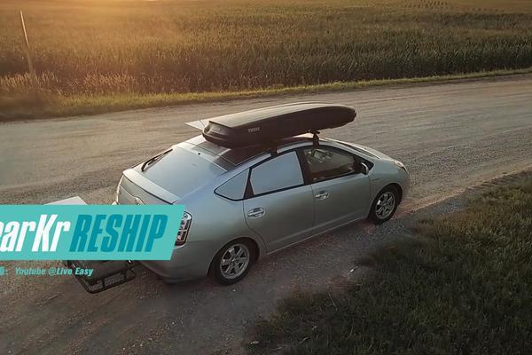 视频:RESHIP / 如何睡在一辆丰田普锐斯里环游美国