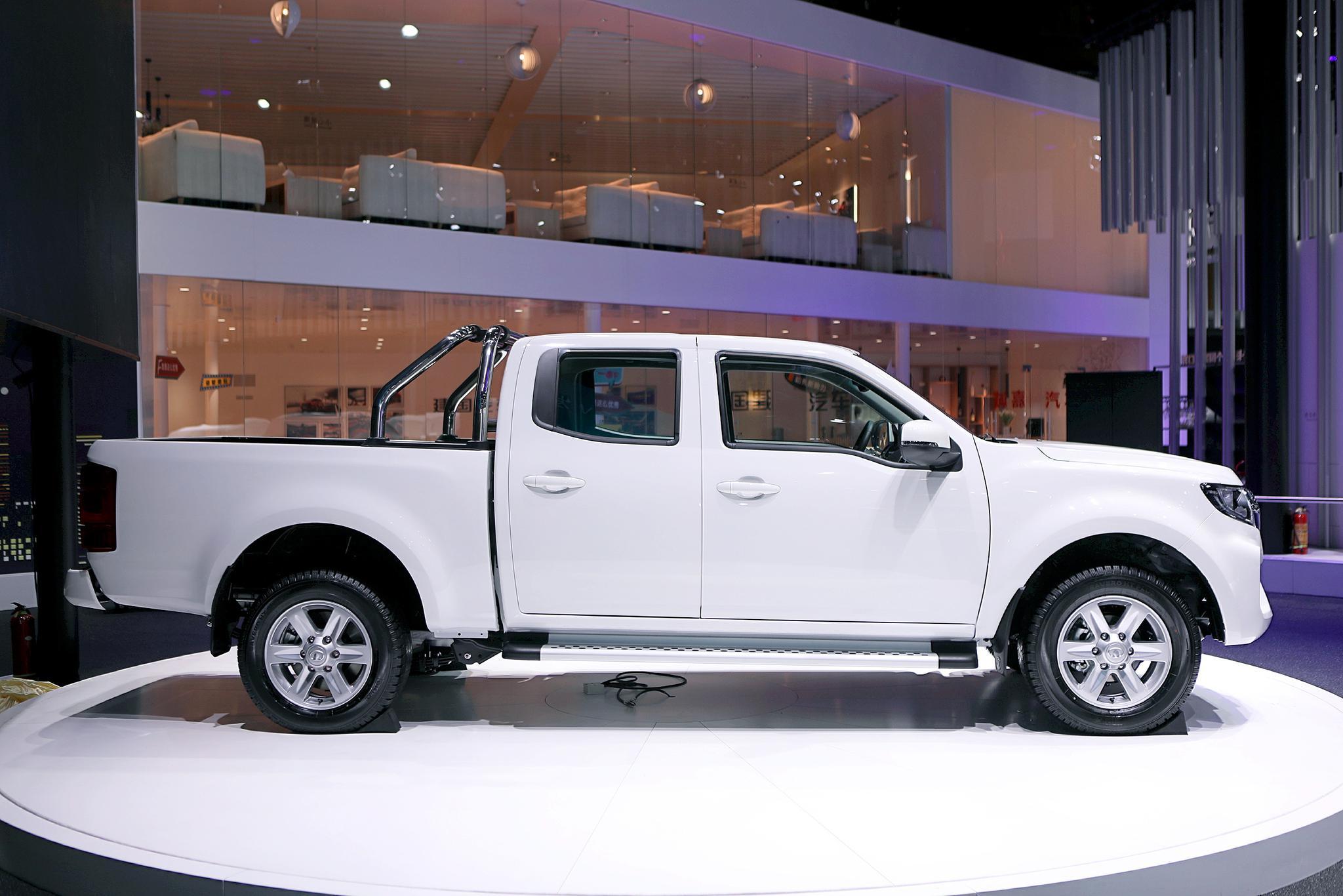彰显实用主义 长城风骏7 EV预售25.68-26.68万元