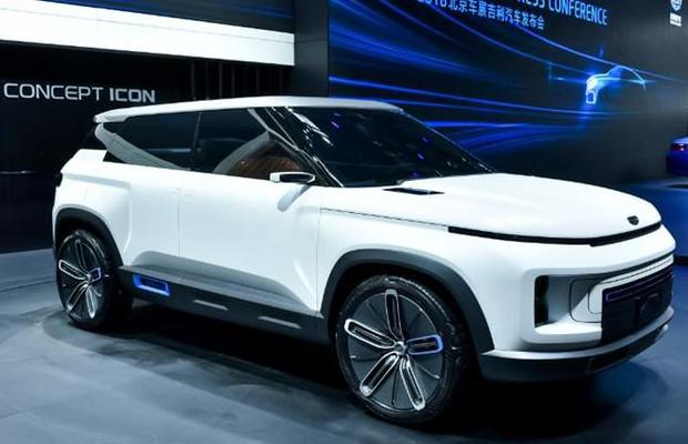 科技与前卫相结合,吉利全新SUV曝光,有望年内上市