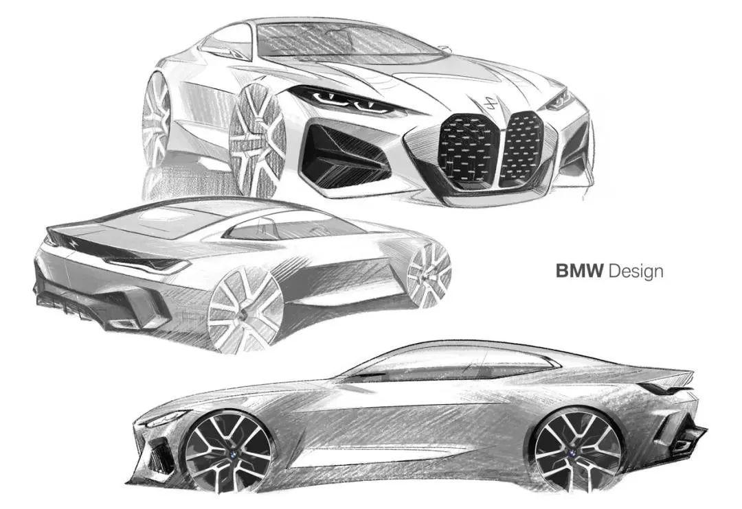 Concept4概念车亮相,以设计之名解读宝马的未来