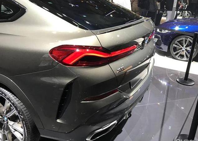 全新宝马X6在法兰克福车展亮相,格栅会发光,预年内在国内上市