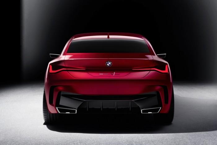 宝马发布Concept 4概念车:完美比例与精准设计的结合体