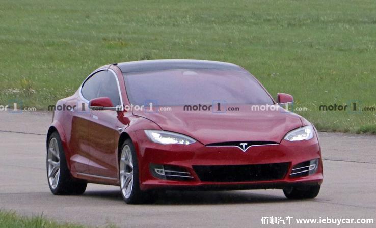 特斯拉Model S微改车辆现身纽博格林 为下周挑战新纪录做准备
