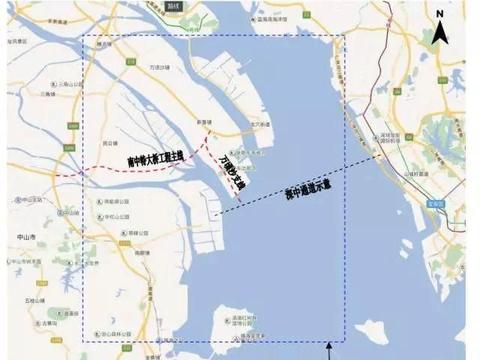 这一招,广州直捣珠江口,和深圳越来越近
