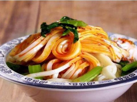 秦镇米皮,越吃越有劲道,越尝越美味
