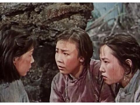 「银幕人物」从《白毛女》的喜儿到《党的女儿》李玉梅