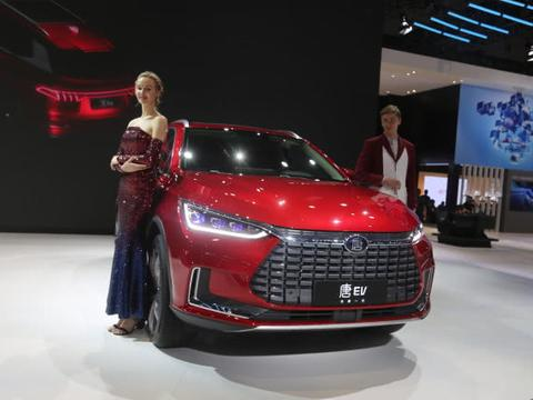 比亚迪唐EV,豪华科技双旗舰纯电SUV,将亮相深圳十一车展!