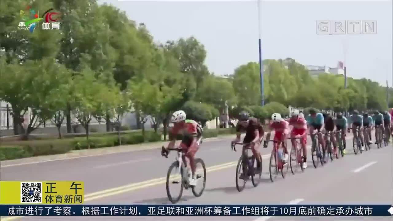 环中国国际公路自行车赛 梅耶尔斯夺第四赛段冠军