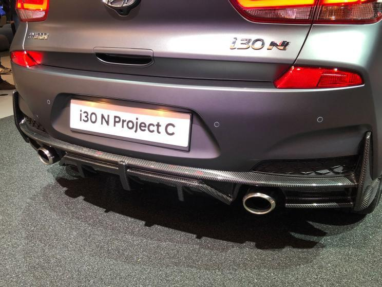 采用轻量化设计 现代i30 N Project C亮相2019法兰克福车展