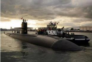美头号核潜艇重返亚太,30年仅造了3艘,号称比093型安静70多倍