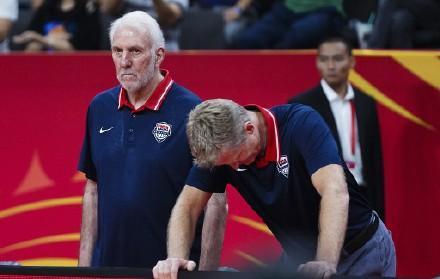 美国男篮距世界杯冠军只差一个安东尼!波波维奇缔造尴尬纪录