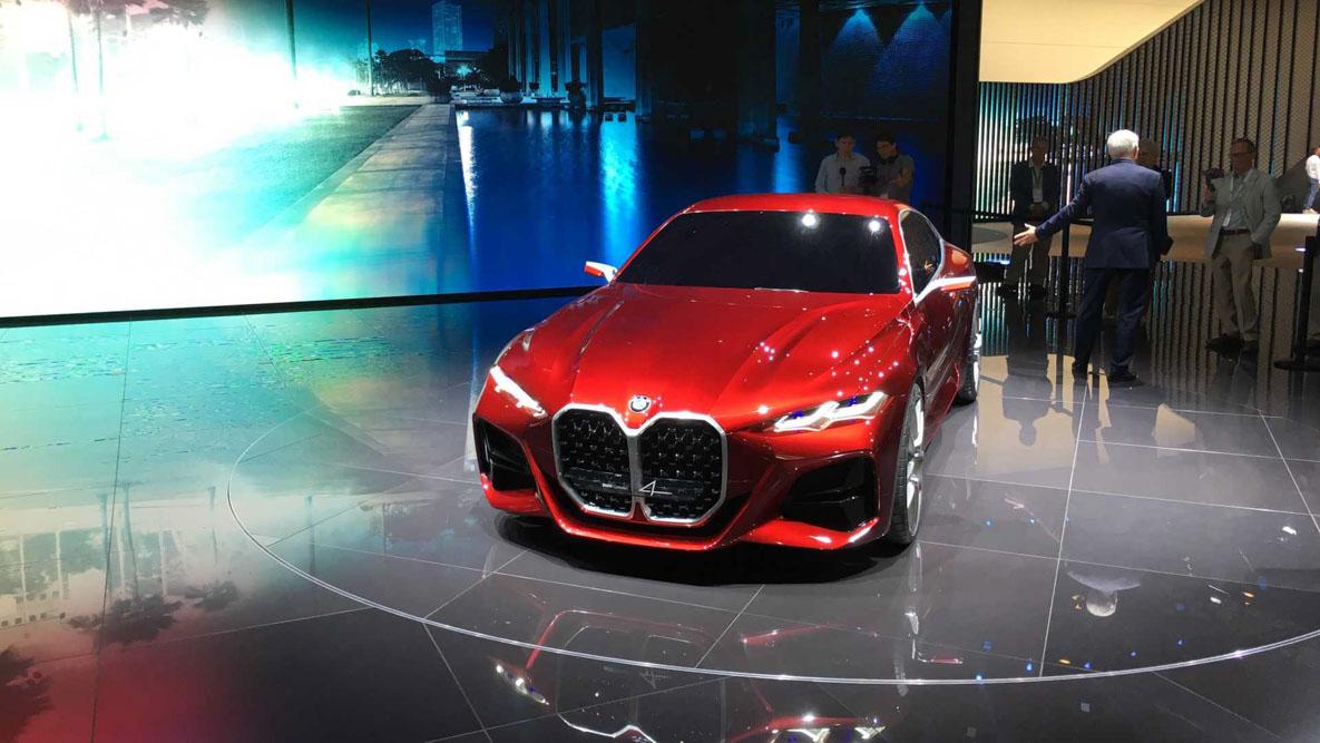 超夸张劲爆双肾,BMW Concept 4 前卫登场!