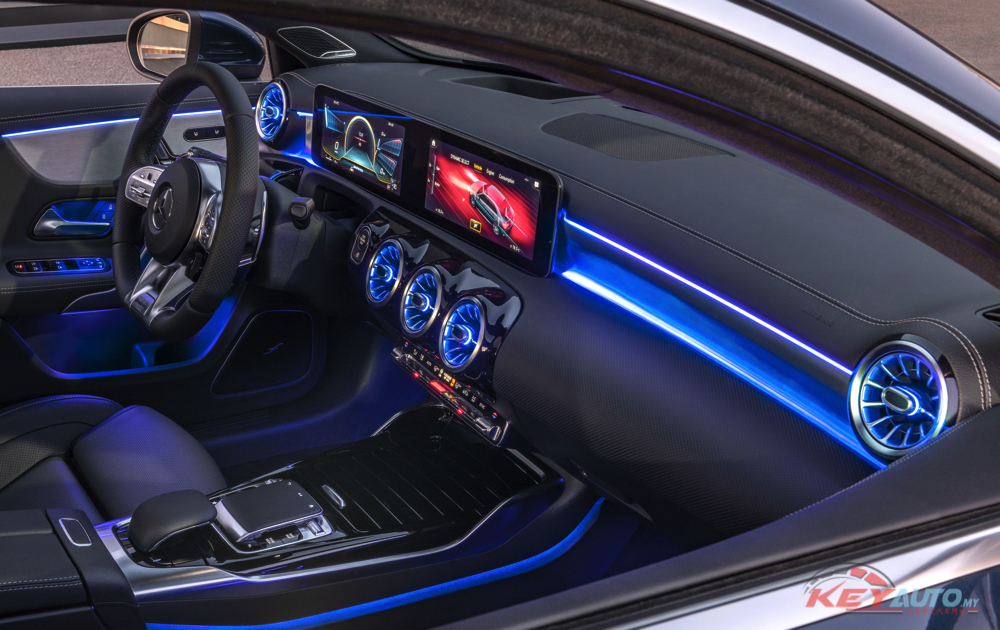 全新 Mercedes-AMG A35 Sedan 2019成都车展预售!