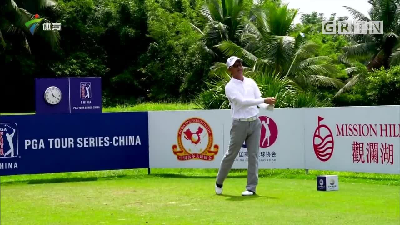 高尔夫海口精英赛 中国球员晋级人数堪忧