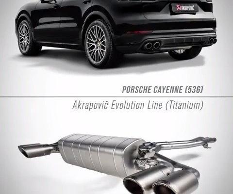 视频:Cayenne订制天蝎排气 轻量化钛合金材质听声识车