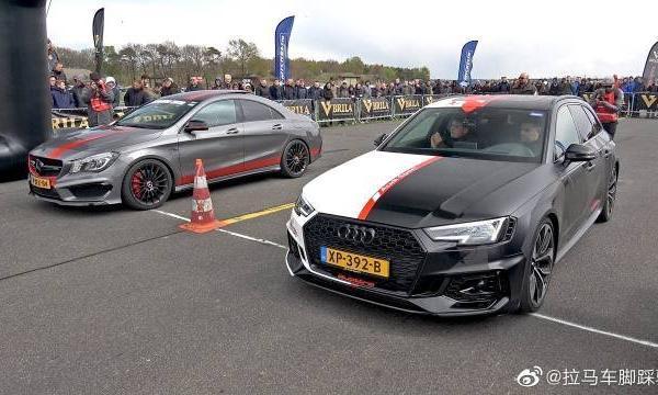 视频:奥迪RS4 Avant B9与米尔泰克排气