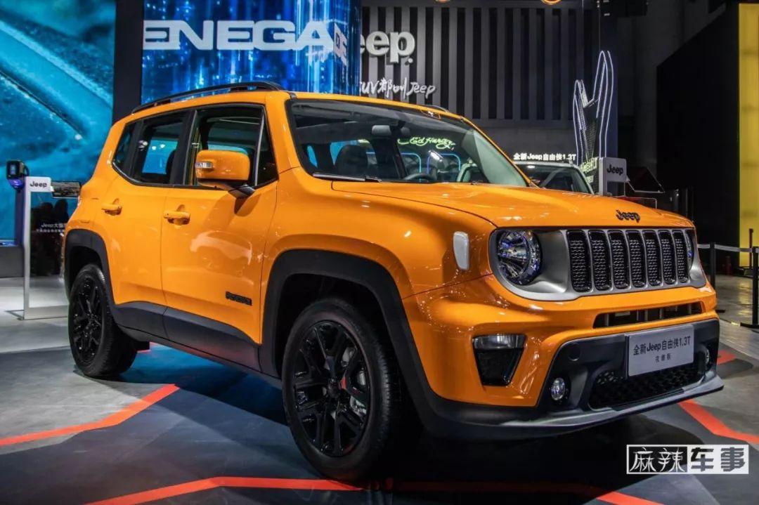 别看它小,9AT+四驱的自由侠也有Jeep的精髓丨成都车展