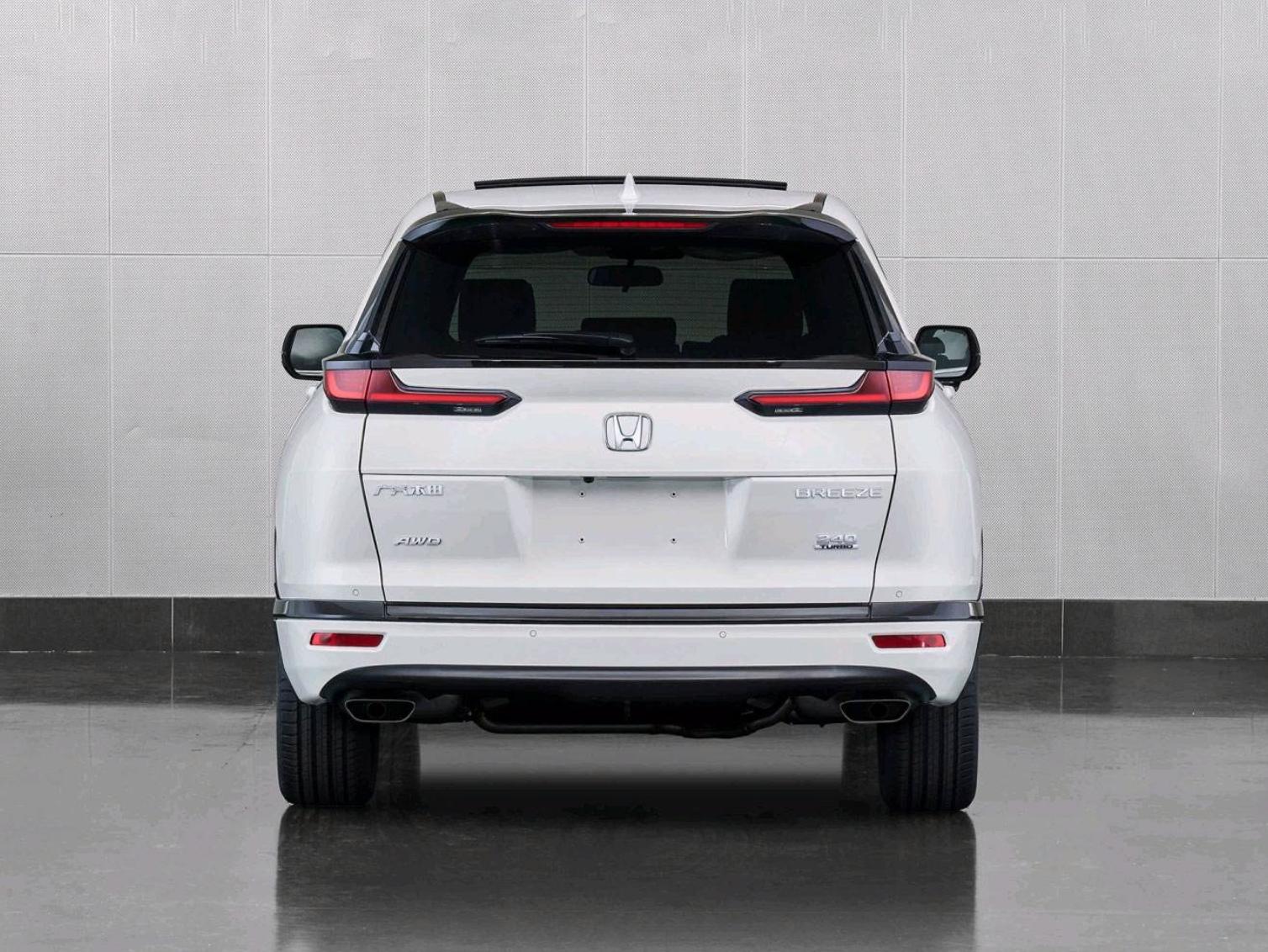 全新本田SUV皓影 将于9月25日开启预售