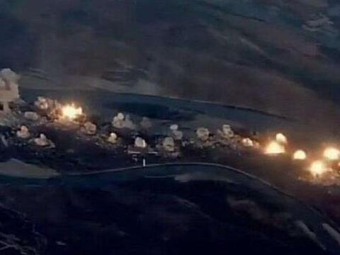 美国空军抢先动武,大批战机空袭伊拉克境内目标,无视伊武装警告