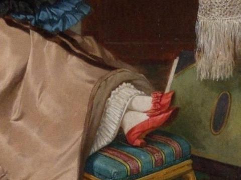 欧洲名画中的精致鞋履:裙底秘密、绸带刺绣,你最想拥有哪一双?