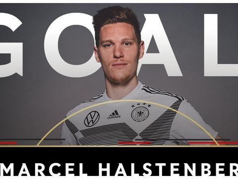 哈尔斯滕贝格:很高兴为德国打破僵局,主要是队友传得好