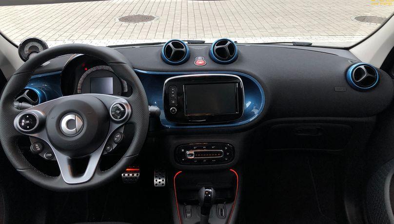 Smart发布两款电动车型 最大续航为159km