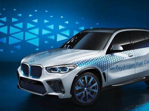宝马推出氢燃料电池电动概念车,未来运用在X5