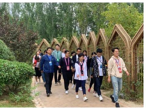 第十一届全国少数民族传统体育运会,媒体代表团来到郑州园博园