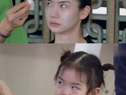 戚薇Lucky迷之撞脸,复制父母高颜值的星二代不少,但林青霞例外
