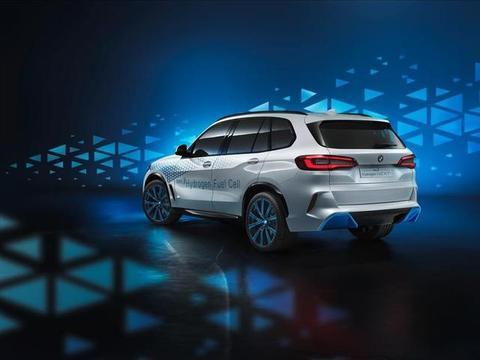 2019法兰克福车展:宝马推出氢燃料电池电动概念车,未来运用在X5