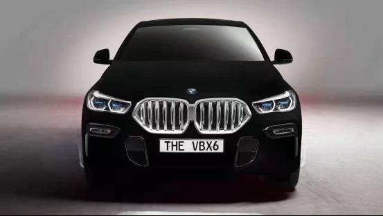 比宇宙黑洞还黑的车,宝马X6黑色魅影,网友:晚上开怕被撞!