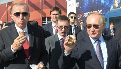 埃尔多安变脸真快:刚和普京吃完冰淇淋 马上就去买美国导弹